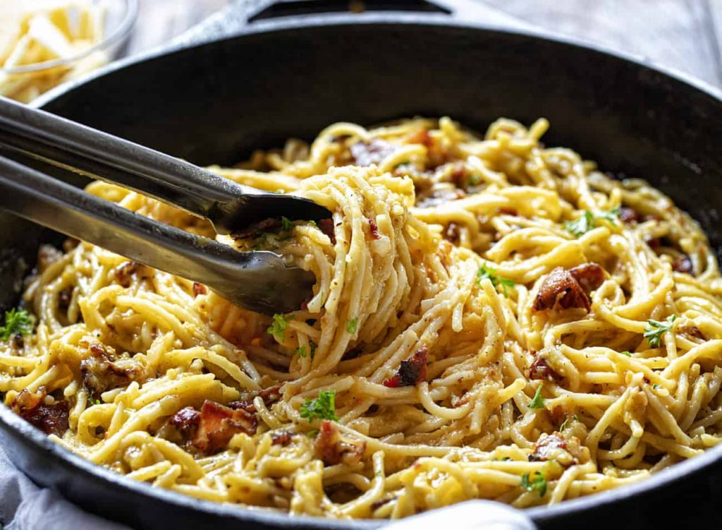 The Best Chicken Carbonara