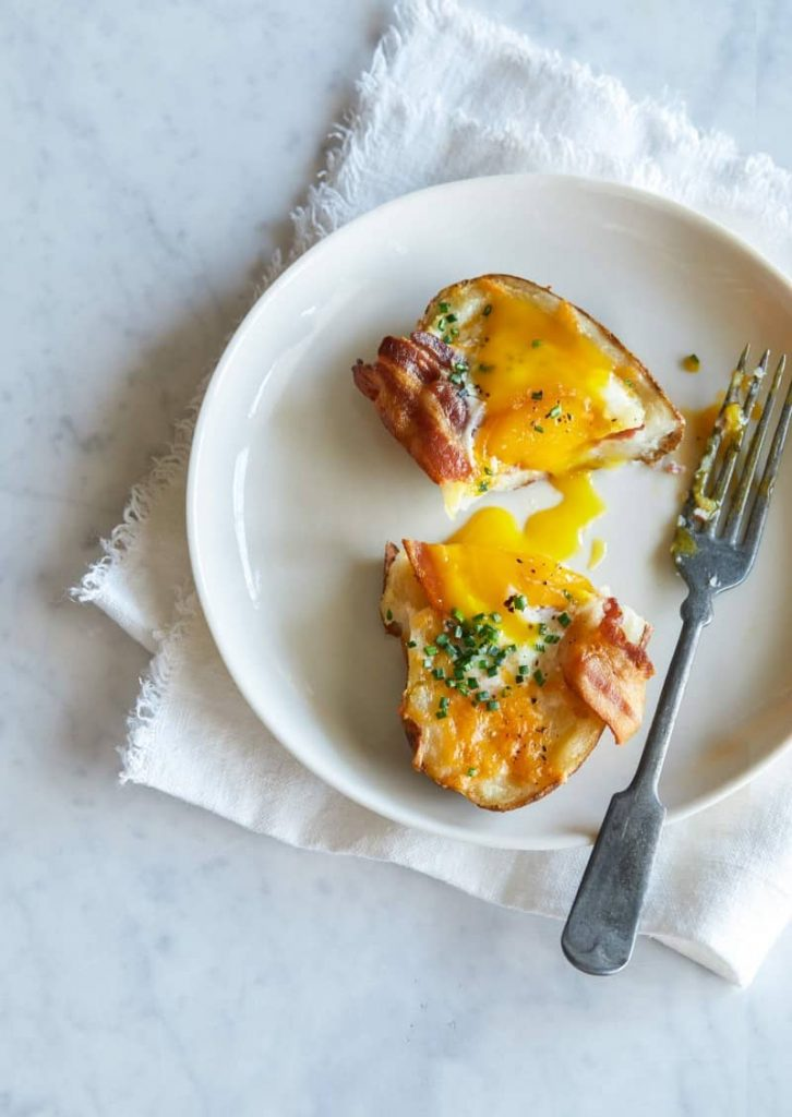 Twice-Baked Breakfast Potatoes